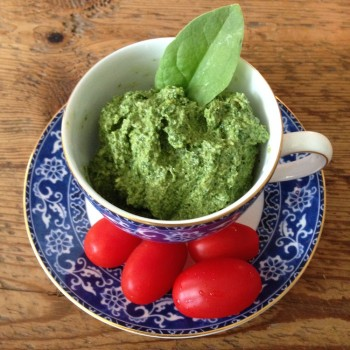 Pesto in cup