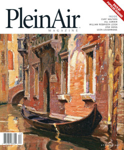 Abbey Ryan in Plein Air Magazine